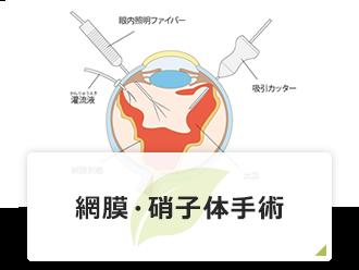 網膜・硝子体手術